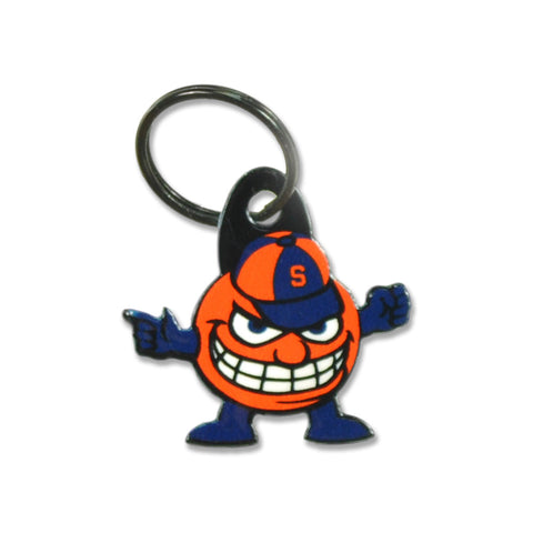 Syracuse Orange Laser Cut Logo Steel Key Ring-Aggressive Otto