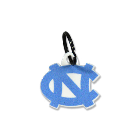 North Carolina Tar Heels Laser Cut Logo Steel Key Ring-Primary Logo