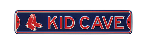 Boston Red Sox  Steel Kid Cave Sign