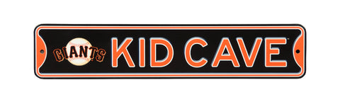 San Francisco Giants  Steel Kid Cave Sign
