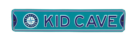 Seattle Mariners  Steel Kid Cave Sign