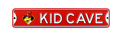 St Louis Cardinals  Steel Kid Cave Sign with Fredbird
