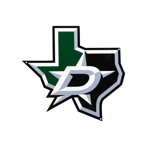Dallas Stars Laser Cut Steel Logo Spirit Size-Tertiary Mark