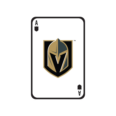 Las Vegas Knights Laser Cut Steel Logo Spirit Size-Ace of Knights