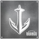 Seattle Kraken Laser Cut Raw Steel Sign Spirit Size-S Logo