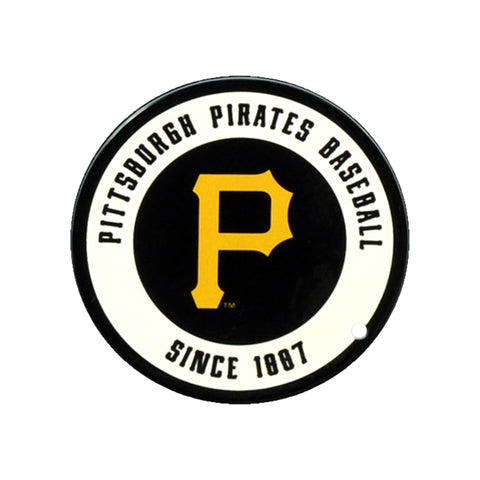 Pittsburgh Pirates Laser Cut Logo Steel Magnet-Circle Logo