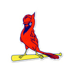 St Louis Cardinals Laser Cut Logo Steel Magnet-STL Clubhouse Bird