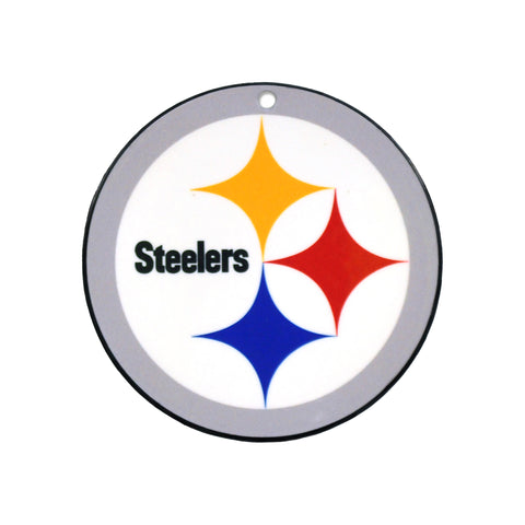 Pittsburgh Steelers Laser Cut Logo Steel Magnet-Primary Logo
