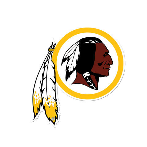 Washington Redskins Laser Cut Logo Steel Magnet-Primary Logo