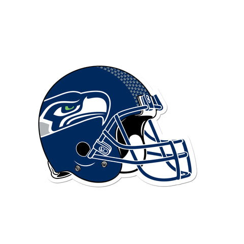 Seattle Seahawks Laser Cut Logo Steel Magnet-Helmet