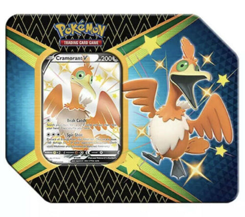 Cramorant Pokemon Shining Fates Tin