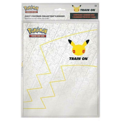 Pokemon 25th Anniversary First Partner Collector's Binder