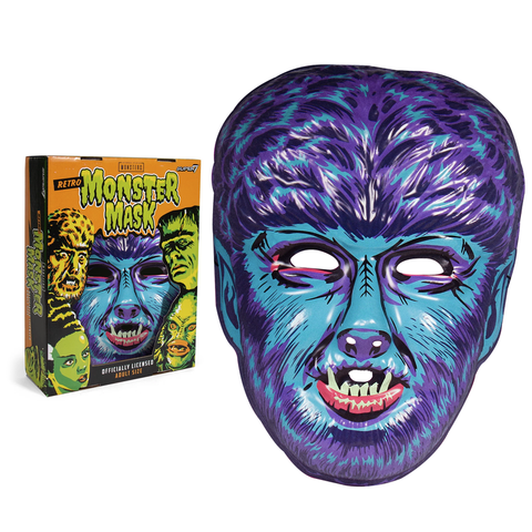 Universal Monsters Mask - Wolfman (Blue)