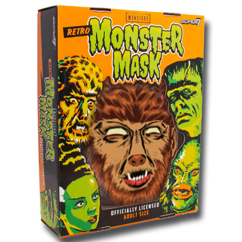 UNIVERSAL MONSTERS MASK - WOLFMAN (BROWN)