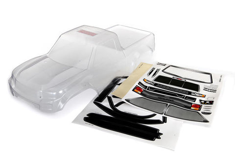 Body, TRX-4¨ Sport (clear, trimmed, requires painting)/ window masks/ decal sheet