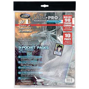 9-Pocket 11-Hole Platinum Page (10 count retail pack)