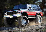TRX-4 Scale and Trail Crawler with Ford Bronco Body: 4WD Electric Truck with TQi Traxxas Link Enabled 2.4GHz Radio System
