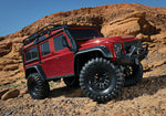 TRX-4 Scale Crawler Land Rover Defender Body 1/10 4WD Electric Truck RED