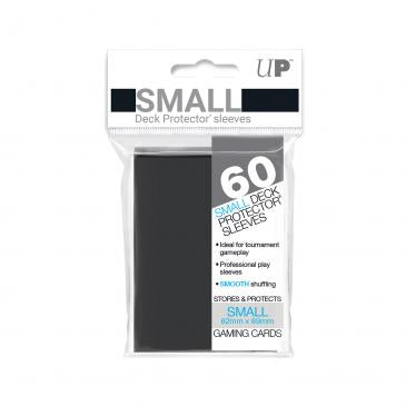 60ct Black Small Deck Protectors