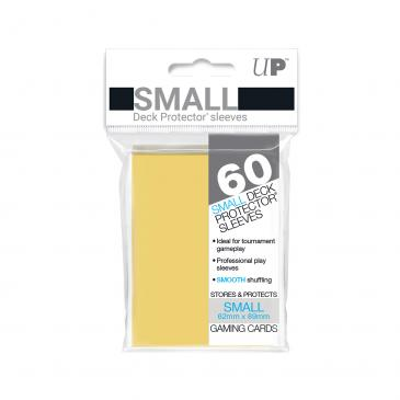60ct Yellow Small Deck Protectors