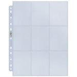 9-Pocket Platinum Page for Standard Size Cards (11-Holes)
