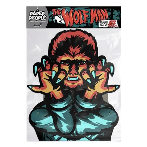 Universal Monsters Paper People - The Wolf Man