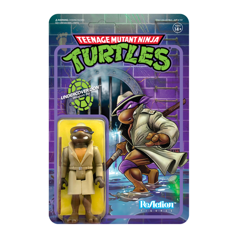 TMNT ReAction W2 - Undercover Donatello