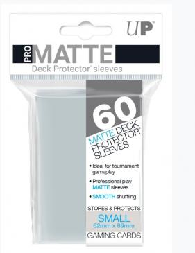 60ct Pro-Matte Clear Small Deck Protectors