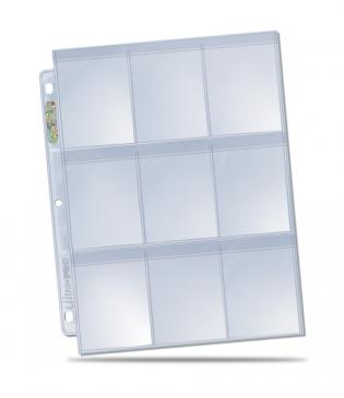 9-Pocket Secure Platinum Page for Standard Cards