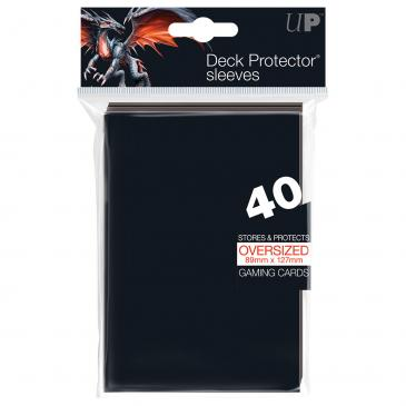 Oversized Top Loading Deck Protector Sleeves 40ct