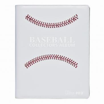 White Stitched Baseball Premium PRO-Binder
