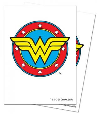 Justice League: Wonder Woman Deck Protector Sleeves 65ct