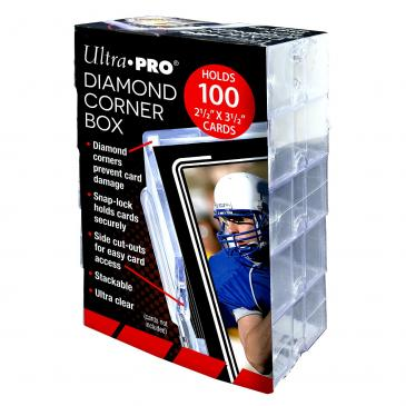 Diamond Corner 100 Count Card Box (10 count retail pack)