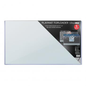 "24"" x 14"" Playmat Toploader 5ct"