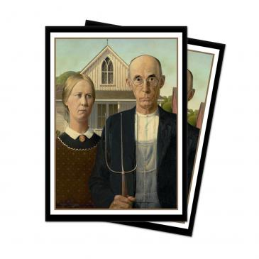 Fine Art - American Gothic Standard Deck Protector 65ct