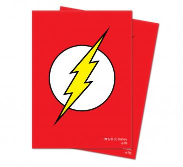 Justice League: The Flash Deck Protector Sleeves 65ct