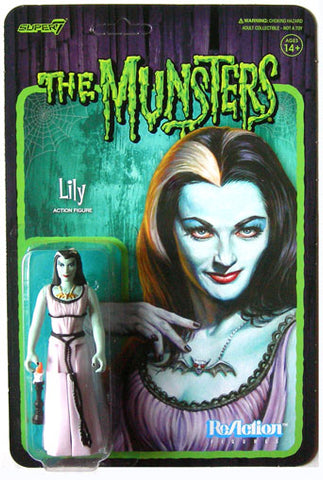 Lily Munsters Super 7 Reaction Action Figures