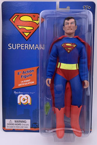 "Mego Action Figure 8"" Superman -"