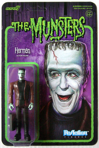 Herman Munsters Super 7 Reaction Action Figure
