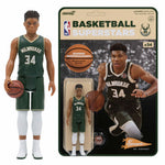 Giannis Antetokounmpo Bucks Super 7 Reaction Figure