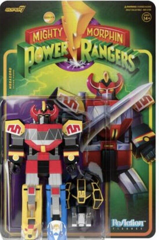 Megazord Mighty Morphin Power Rangers Super 7 Reaction Figure