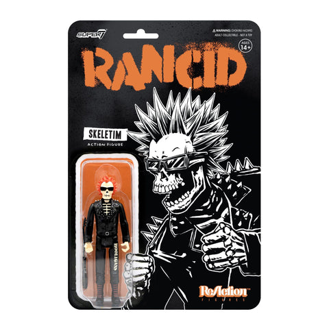Rancid Skeletim Punk Super 7 Reaction Action Figure