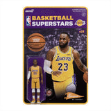 Lebron James Lakers Y Super 7 Reaction Figure