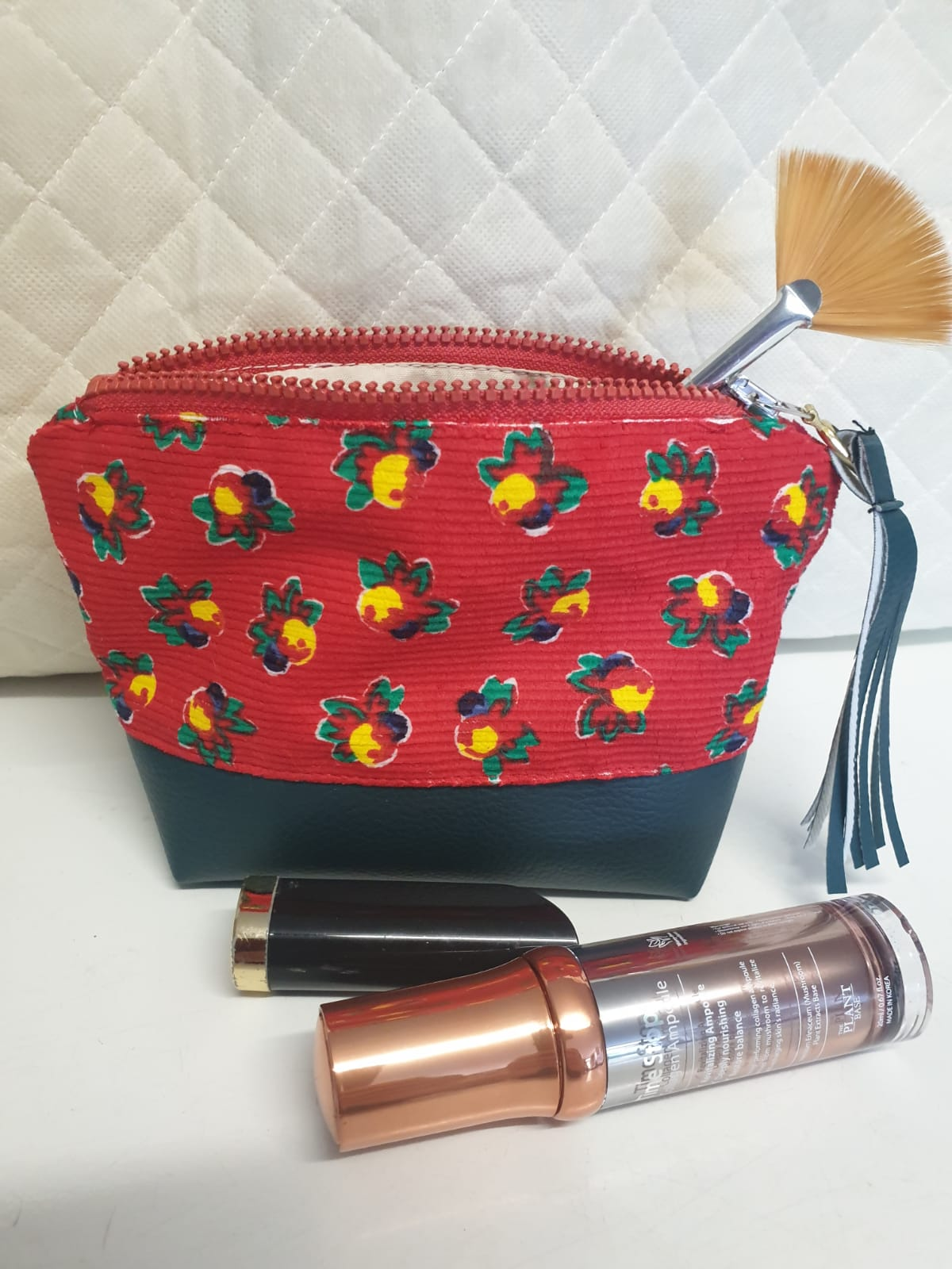 Make up Bag Rode versie Plant