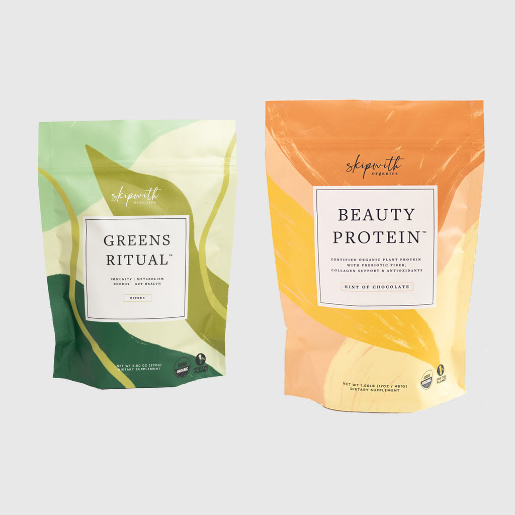 Greens Ritual Hint of Chocolate Beauty Protein