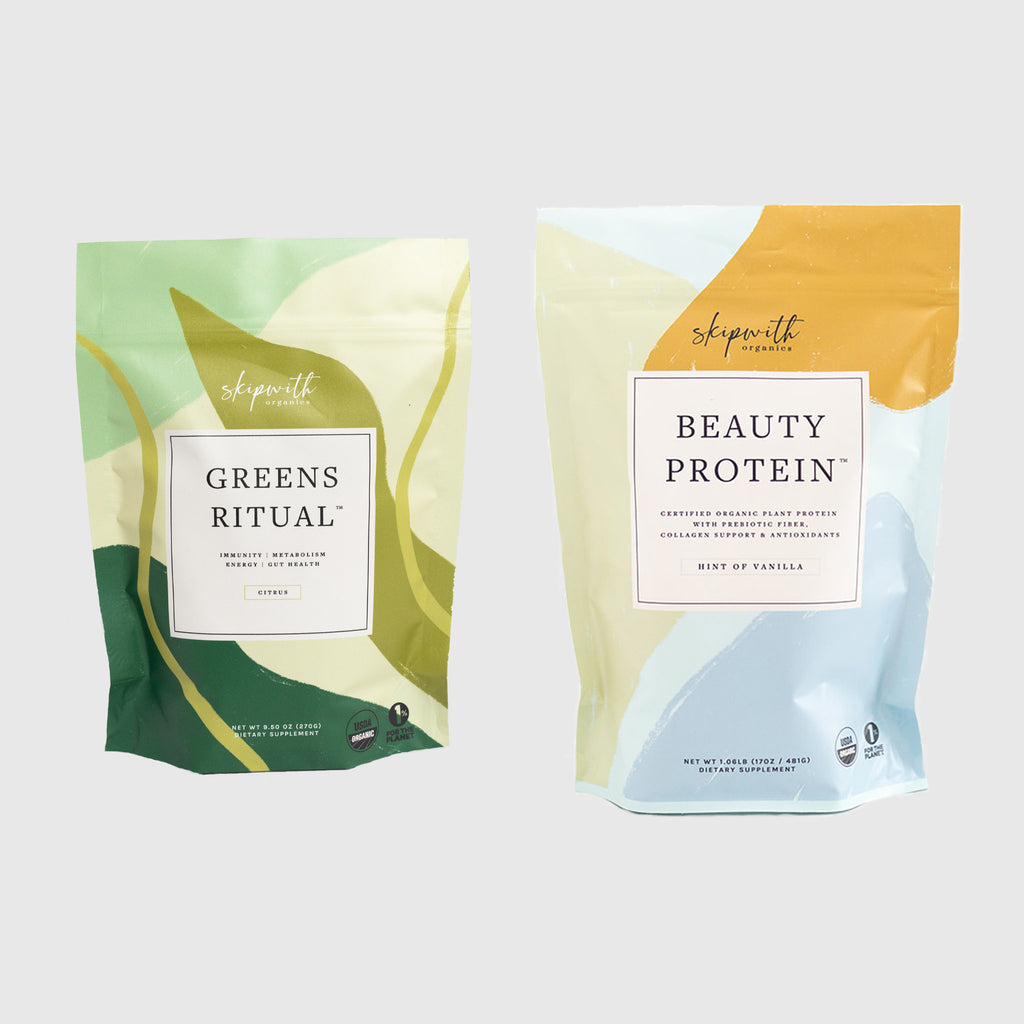 Greens Ritual Hint of Vanilla Beauty Protein Bundle