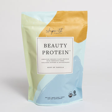 Organic Beauty Protein Hint of Vanilla