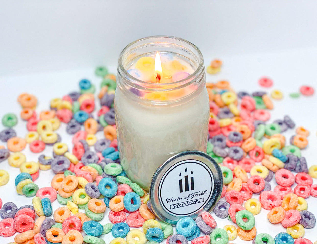 Fruit Loop Candle