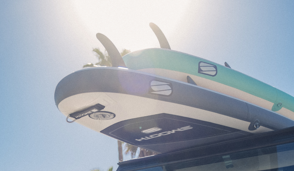 SUP and Surfing