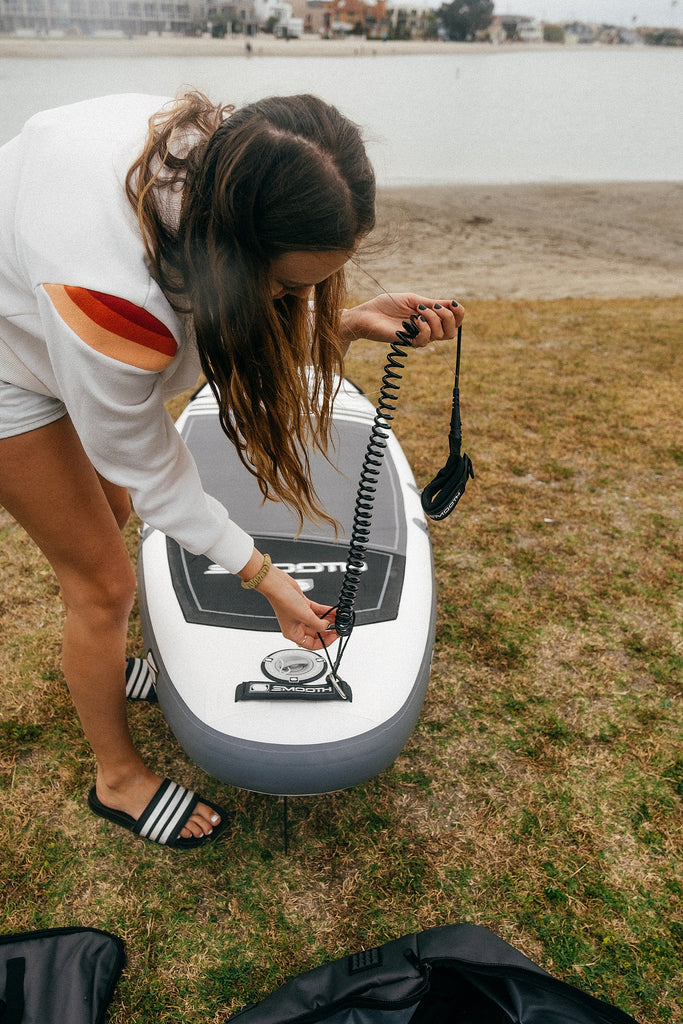 Coil Leash SUP accessories by Smooth